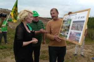 Алина Делисс: Сделаю все возможное,  чтобы закрыть свалку в Чеховском районе