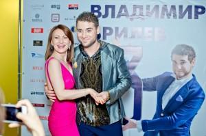 Алина Делисс поздравила Владимира Брилёва с днем рождения