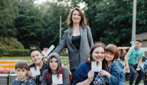 Алина Делисс выступила на концерте в честь Дня Любви, Семьи и Верности